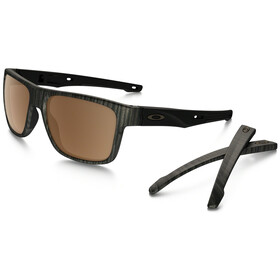 Oakley Crossrange Woodgrain/Prizm Tungsten Polarized